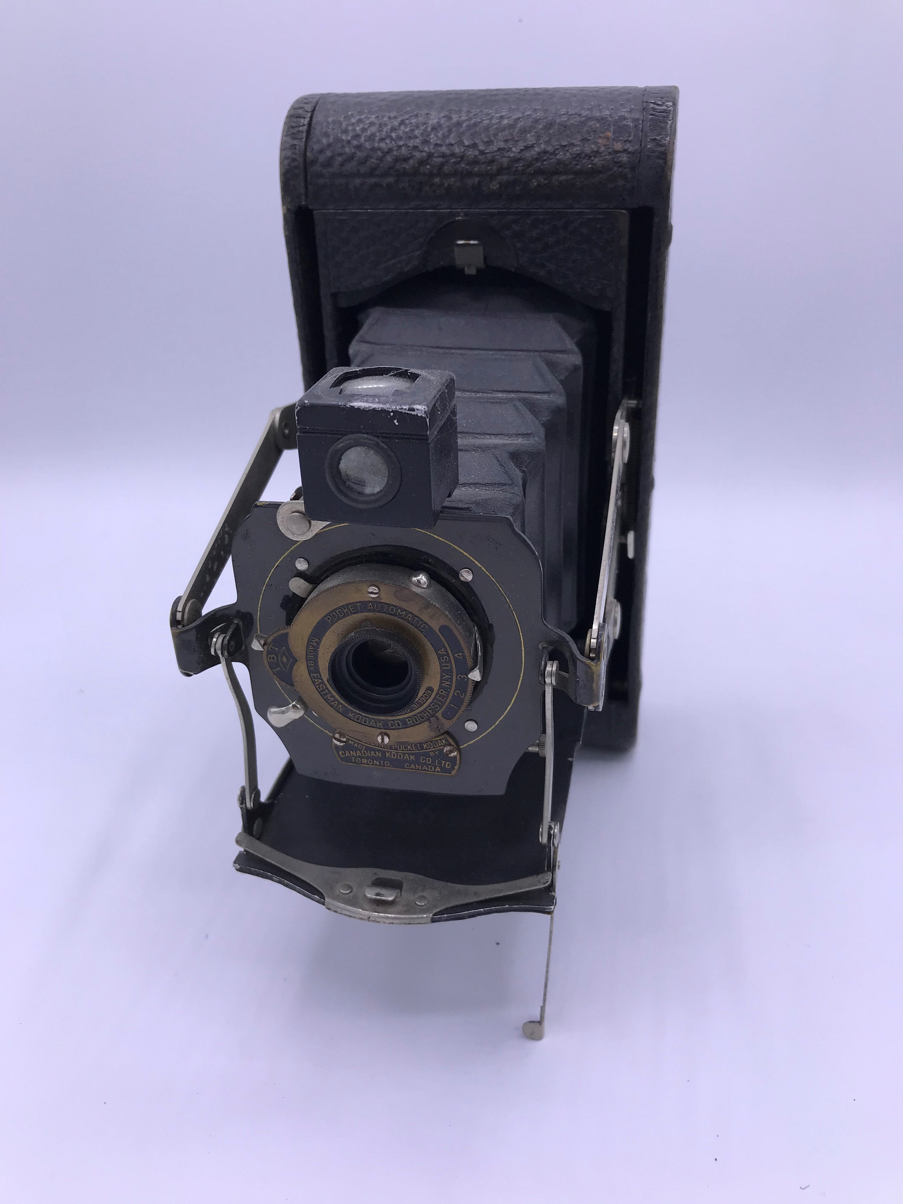 Kodak No.1A Folding Pocket Mod. D black bellows